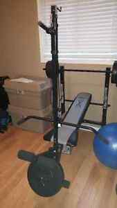 Competitor Bench & weights