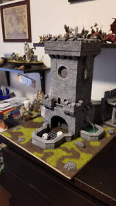 Dice Tower for board games and warhammer 40k wargames