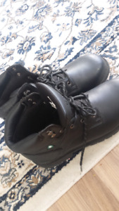 Safety BOOTS CAS Steel Toe/Plate Size 12 worn only twice.