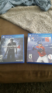 Uncharted 4 and MLB The Show 16