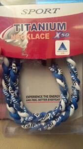 Titanium Sport Necklace
