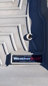 Weathertech Truck mats--front & back set for F150 Supercrew