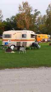 Vintage Camper Rally Scotty Boler Trillium Scamp Surfside...