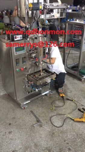 Pneumatic Control 0-50g Apple Paste Wrapping Machine/fruit Jam Packing Machine