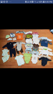 Big lot of euc/guc 3M boy/neutral baby clothes