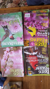 Birds and bloom magazines  FREE