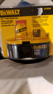 Dewalt 18v XRP DC9096 Battery pack