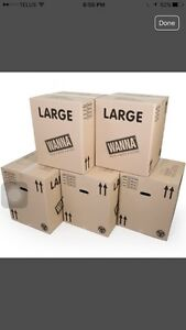 LOOKING FOR LARGE BOXES