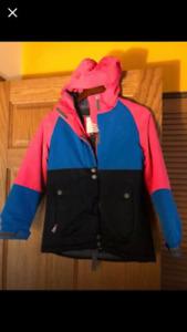 Girls winter jacket/snow jacket size medium size 10ish