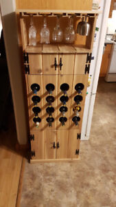 CUSTOM MADE WINE RACKS AND STORAGE BENCHES FOR SALE
