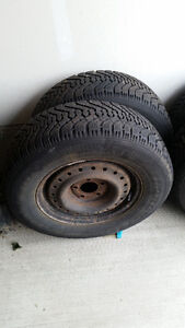 Snow Tires with Rims for sale London Ontario image 1
