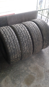 Toyo open country LT 265-75-16