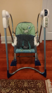 Fisher Price - Smart Stages 3-in-1 Rocker Swing