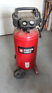 17 gallon Porter Cable Compressor