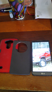 LG G3 for sale with 2 hard cases