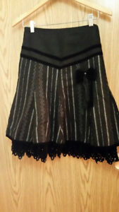Skirts, size from small to medium, $3