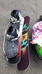 5 snowboards