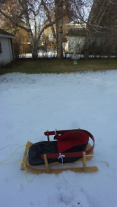 Baby /Toddler Sleigh with pouch