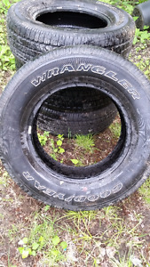 Truck Tires from Toyota Tundra
