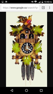 Authentic German made cuckoo clocks