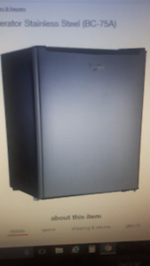 Whirlpool® 2.7cu. ft. Mini Refrigerator Stainless Steel (BC-75A)