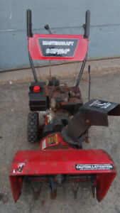 SNOWBLOWER-8HP-ELECTRIC START-MADE IN CANADA