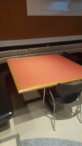 Small sturdy used square tables (2 available)