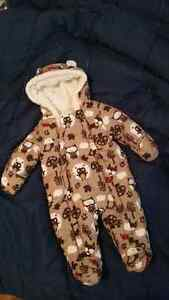 Snowsuit for baby 0-3 month
