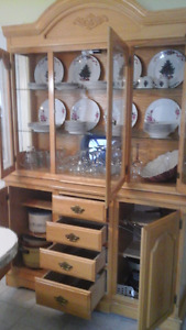 Hutch and China Cabinet for Trade or Sell
