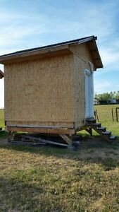 Storage shed - insulated
