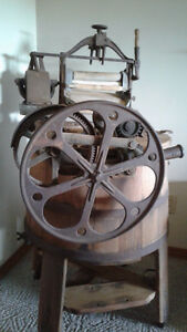 Antique wash machine