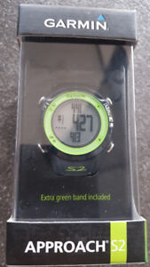 TWO BRAND NEW Garmin Approach S2 GPS Golf Watches