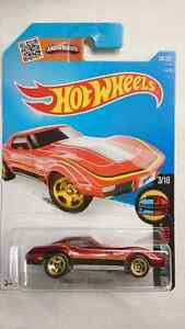 HOT WHEELS CORVETTE STINGRAY HW WILD TO WILD #3/10 MINT! DIECAST