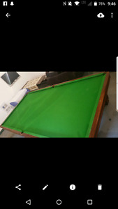 Snooker Table 12x6