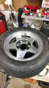 """16"""" GM 6 bolt Mag rims and tires"""