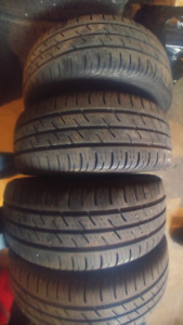 4 Used Tires - 195/55/16 Continental Run Flat
