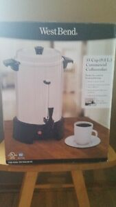 Commercial coffee pot
