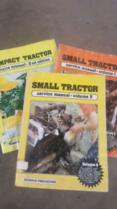 Vintage small/compact tractor manuals