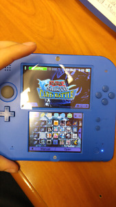 2DS with 64gb SD card Loaded with 3DS games