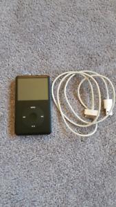 160 GB black ipod