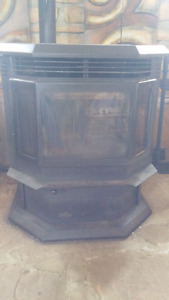 Pellet stove for parts or repair