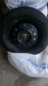 "Winter Tires Size 205/65r/16"" w/ Rims"