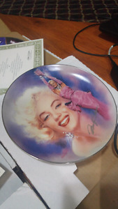 All That Glitters - Marilyn Monroe Collector Plate