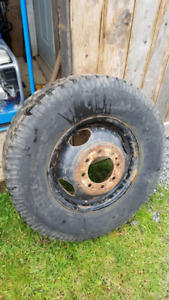 215/85/R18 Dodge 3500 Dually Spare Tire