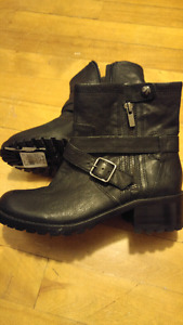 Never worn Black Lord & Taylor Boots