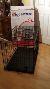 Used Large dog cage 91x57x62 cm