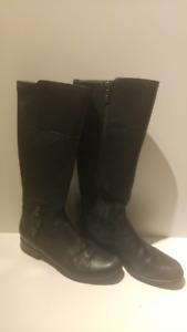 Blondo Waterproof Knee High Black Boots