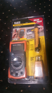 Klein Tools Electrical Tester Kit Brand New  $50