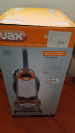 Vax Rapide Ultra Carpet washer, dual V technology.