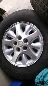 All season tires and rims p215/70r15 Cambridge Kitchener Area image 4